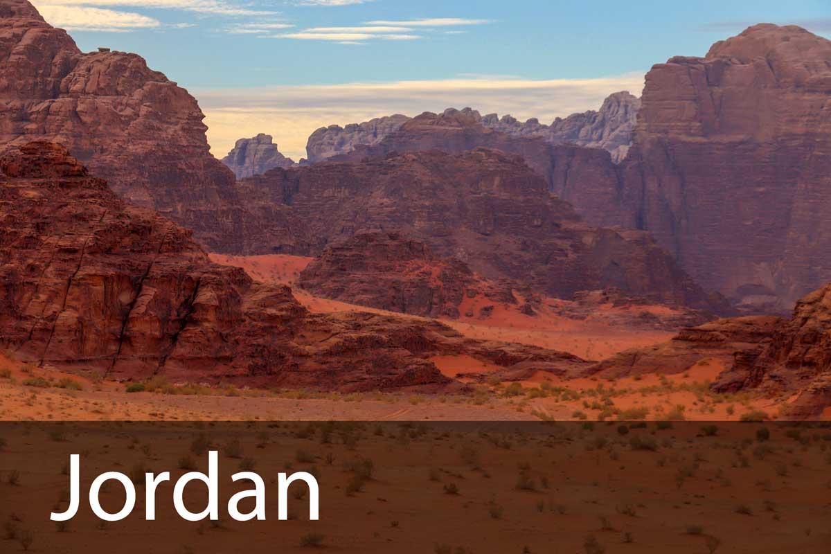 Jordan rejseblog