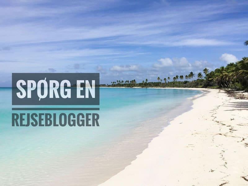 spørg en rejseblogger