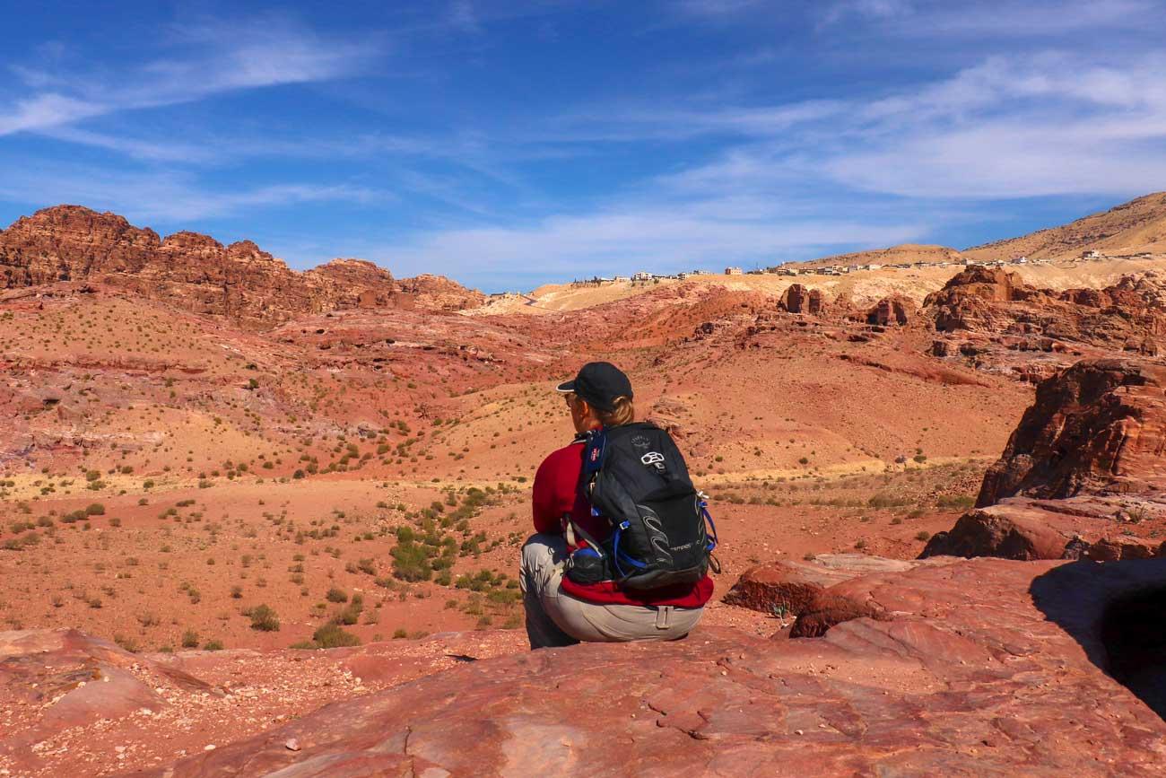 vandring i Petra