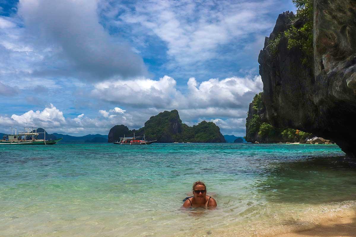 rejs alene i filippinerne