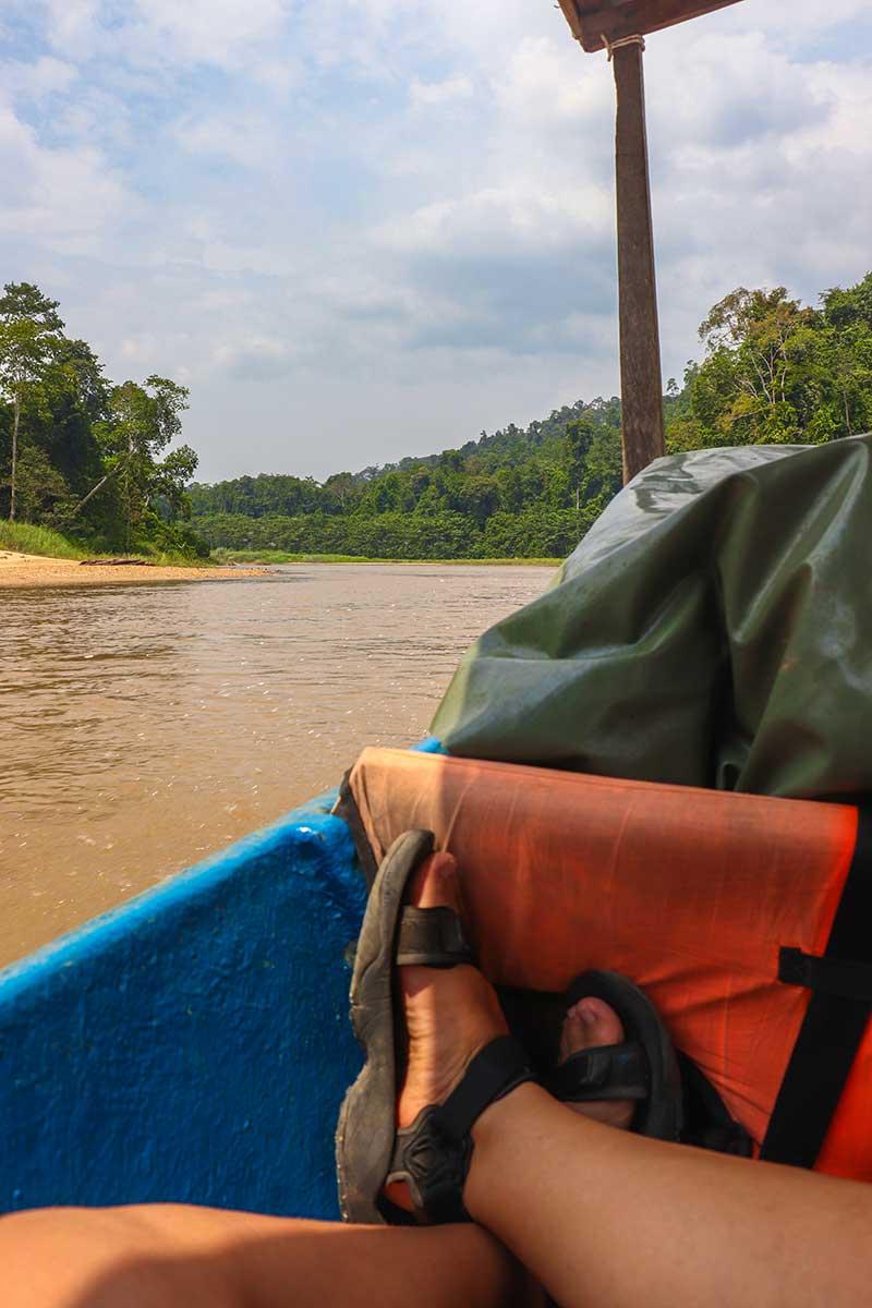 bådtur til Kuala Tahan