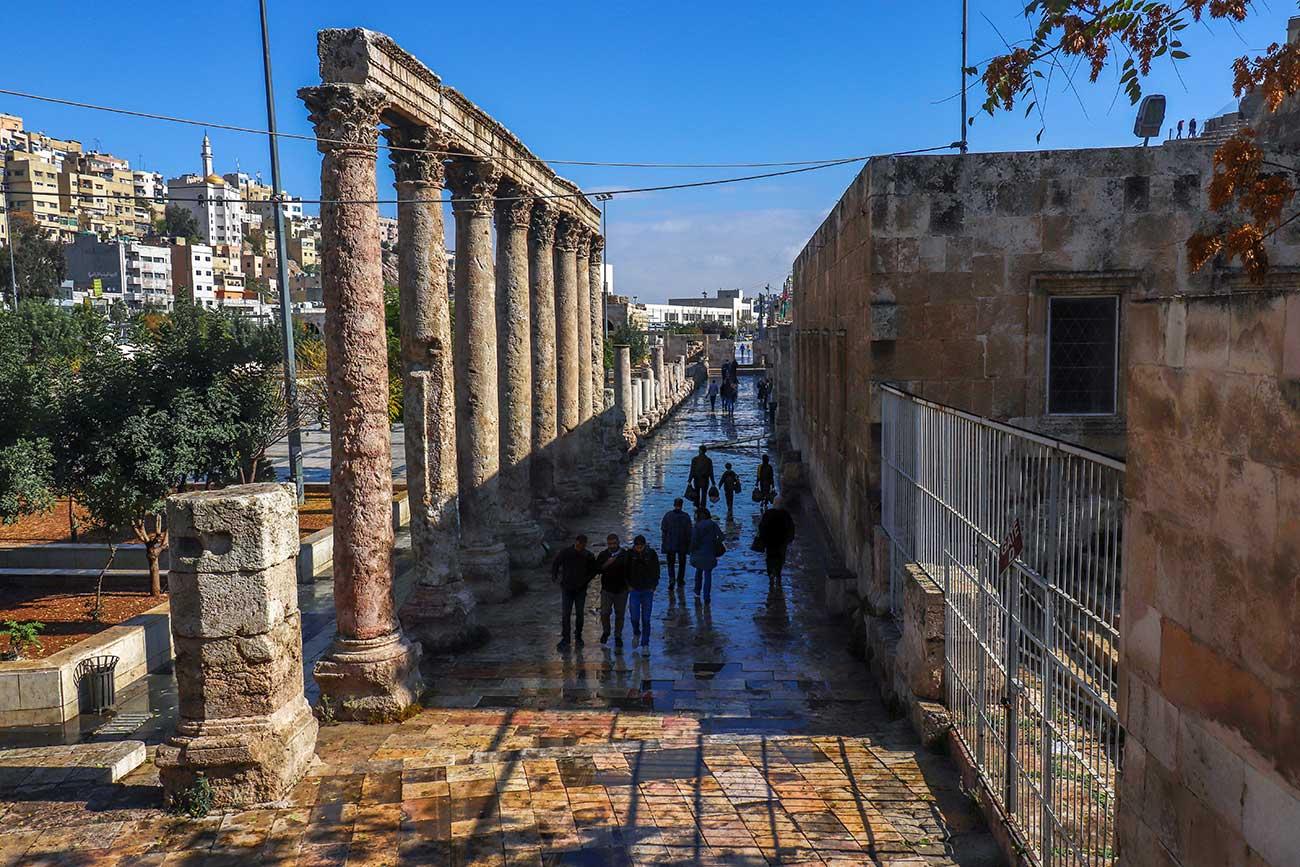 ruiner i Amman