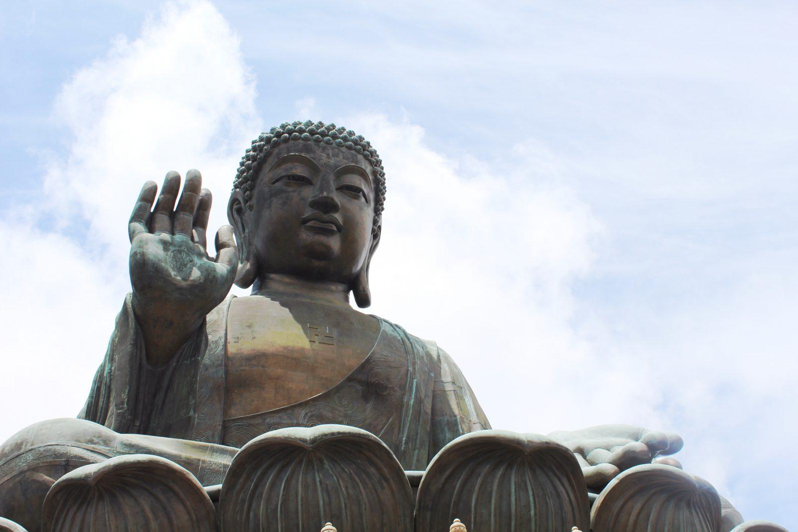 Tian Tan Buddhaen, Lantau Island, Hong Kong