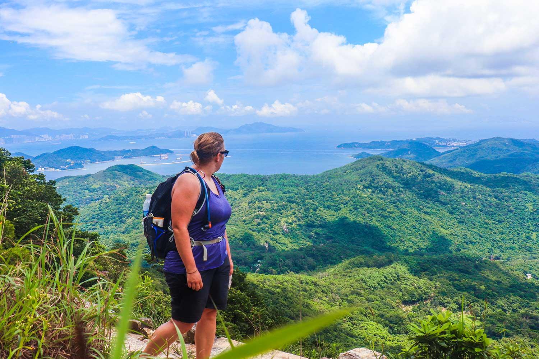 vandring i Hong Kong