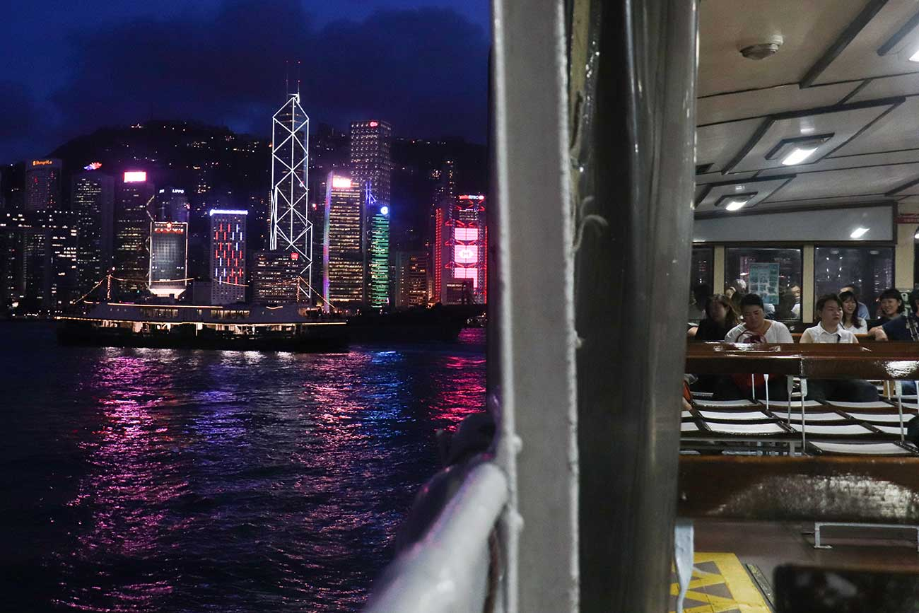 star ferry i Hong Kong