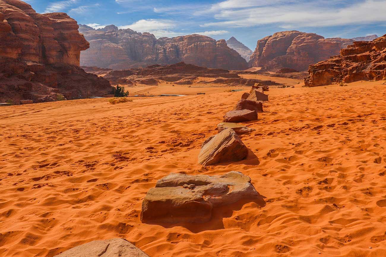 ørkenvandring i Jordan