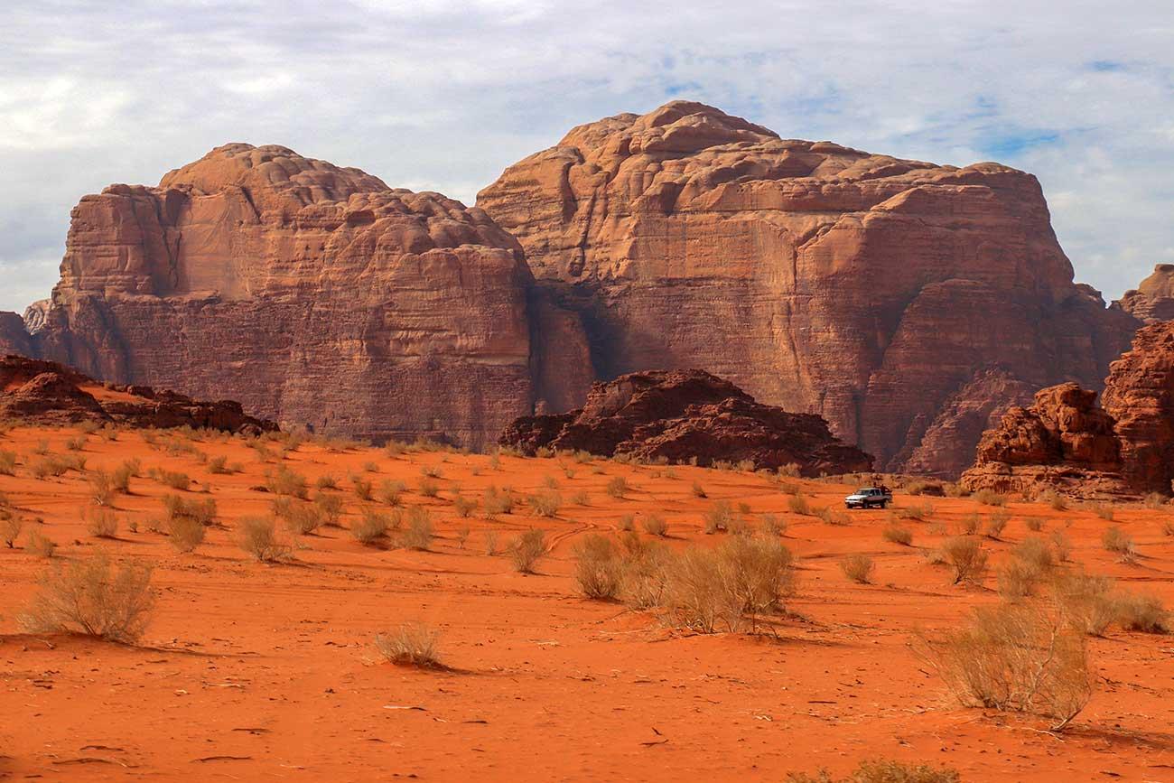 jeep i wadi rum, jordan