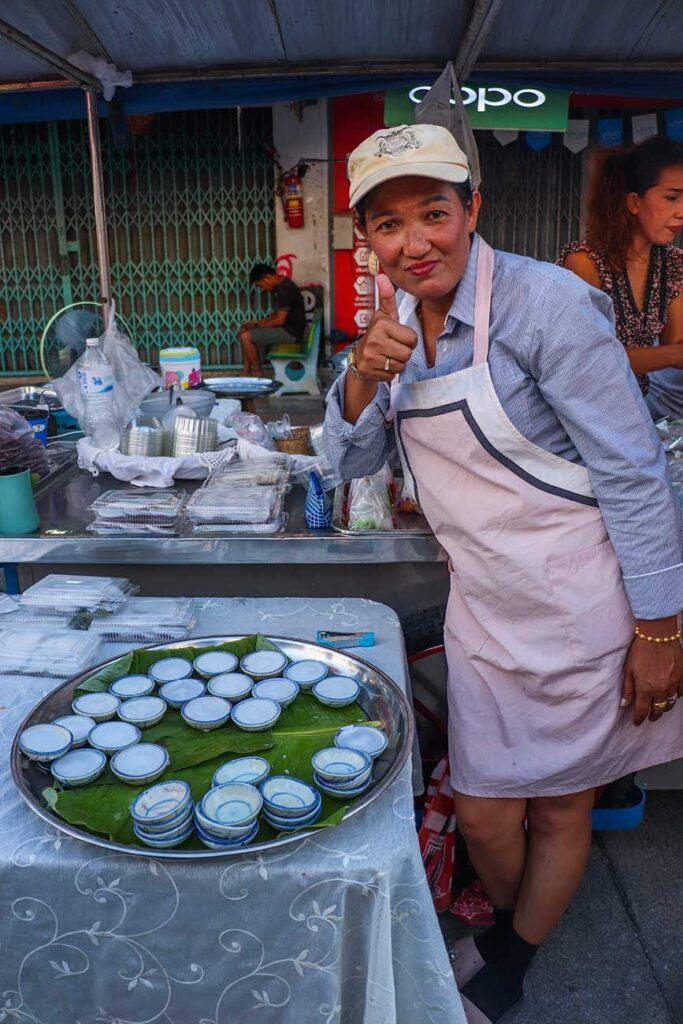 thailandsk street food sælger