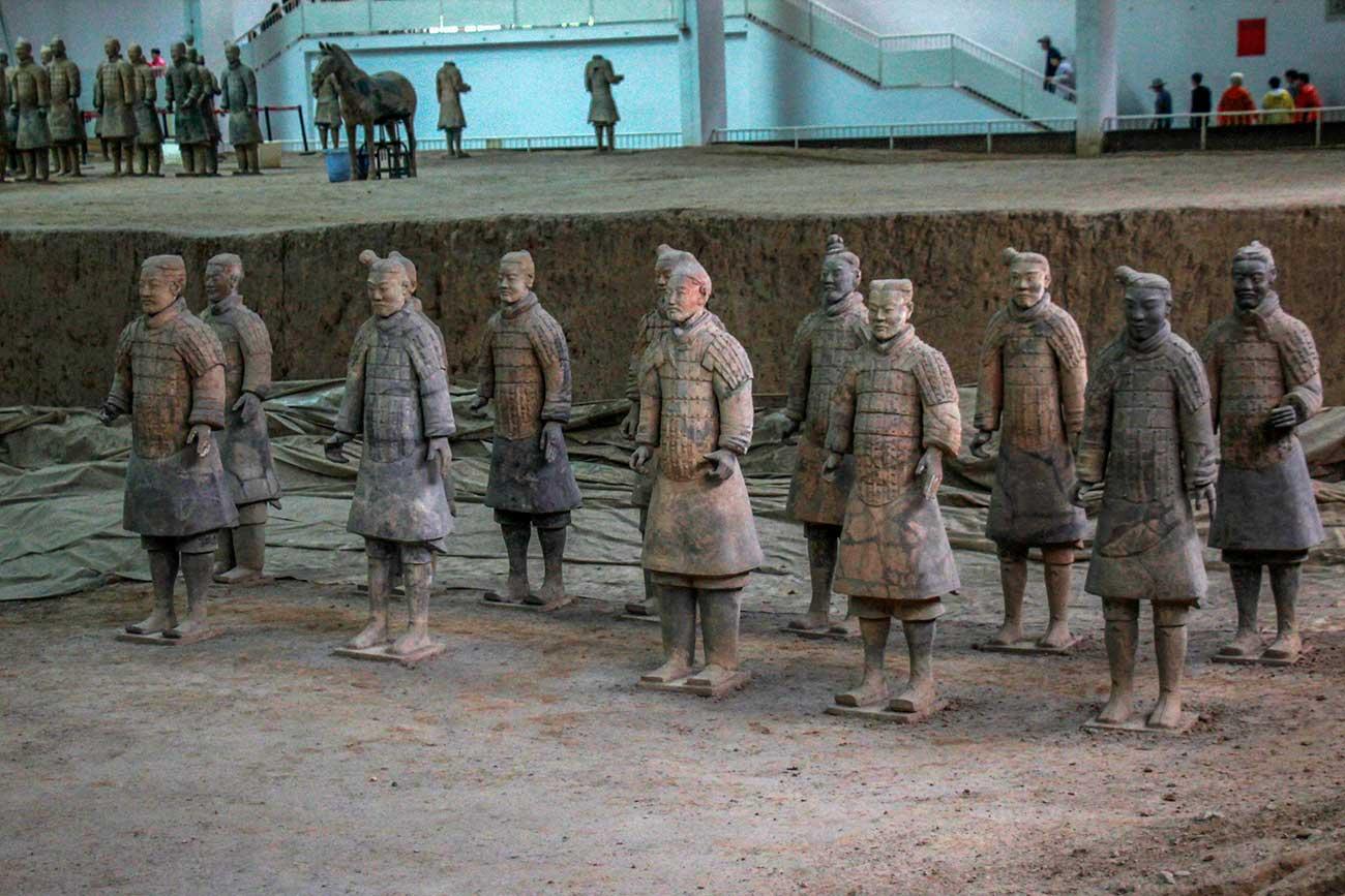terrakottakrigere i Xi'an