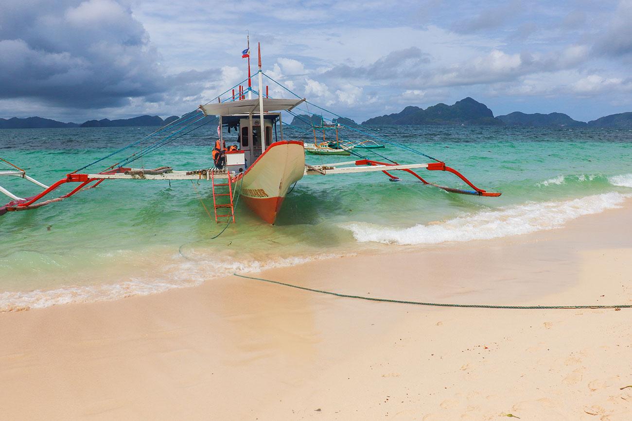 båd i filippinerne