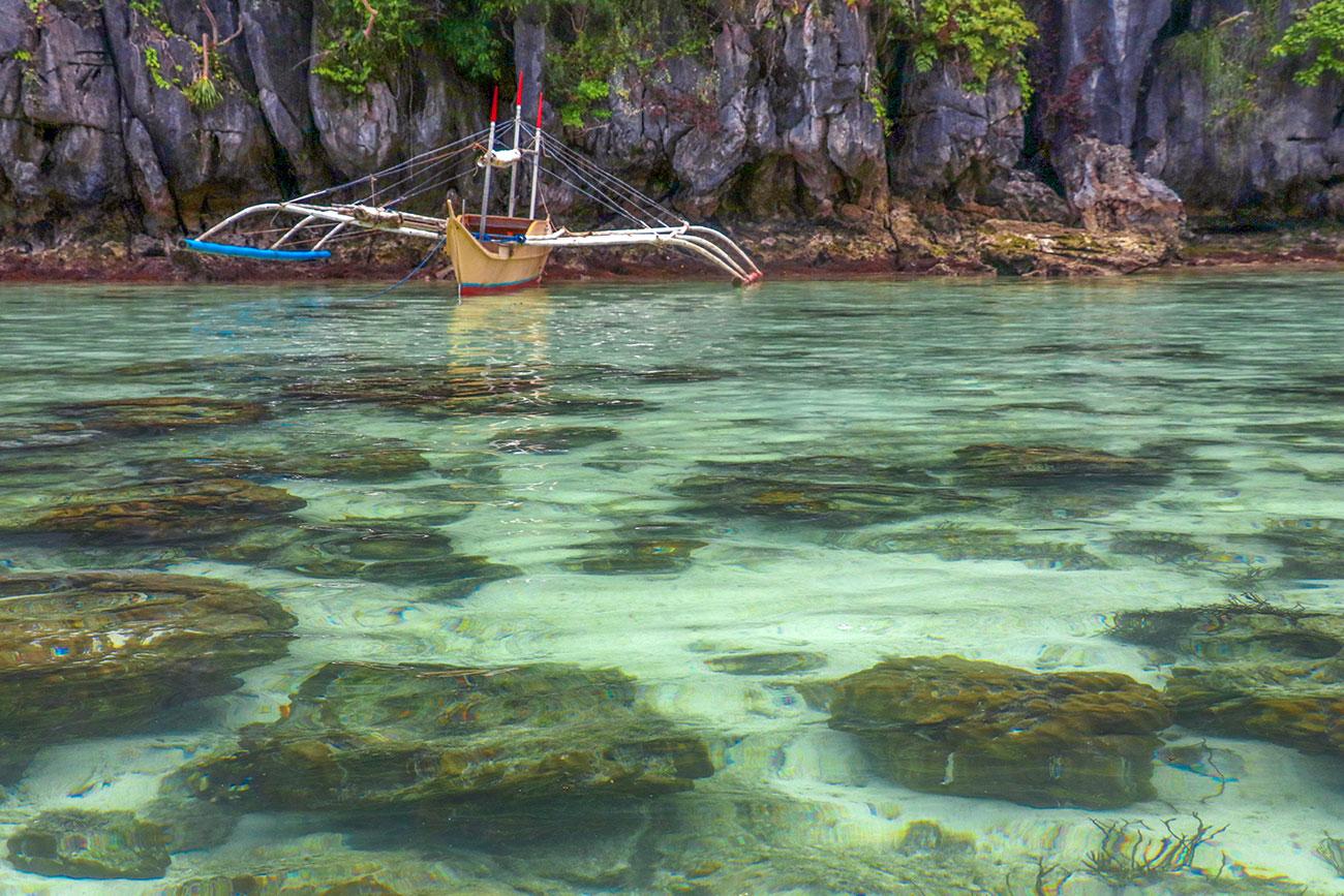 small lagoon, bacuit bay, el nido