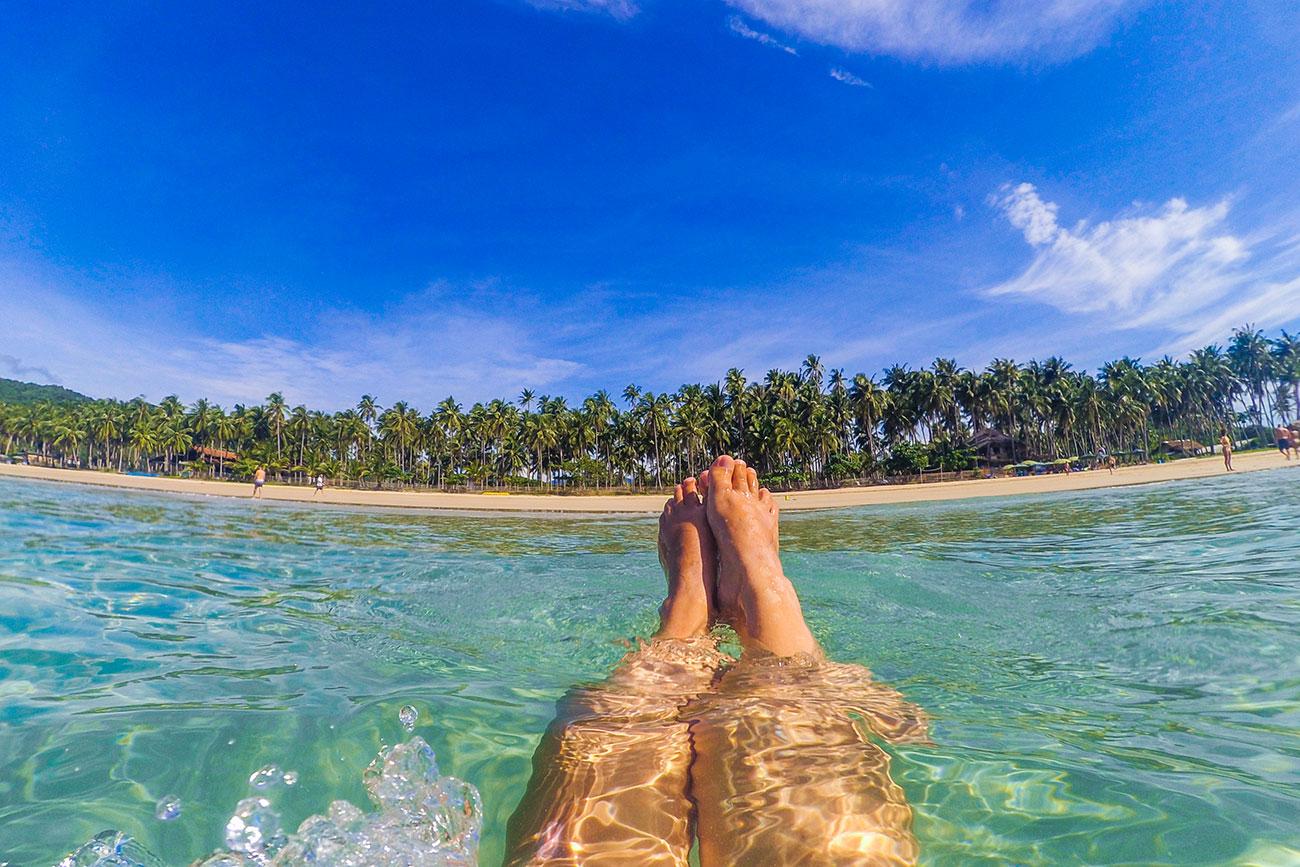 Rejseguide el nido: Nacpan beach