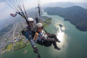 de bedste steder at paraglide