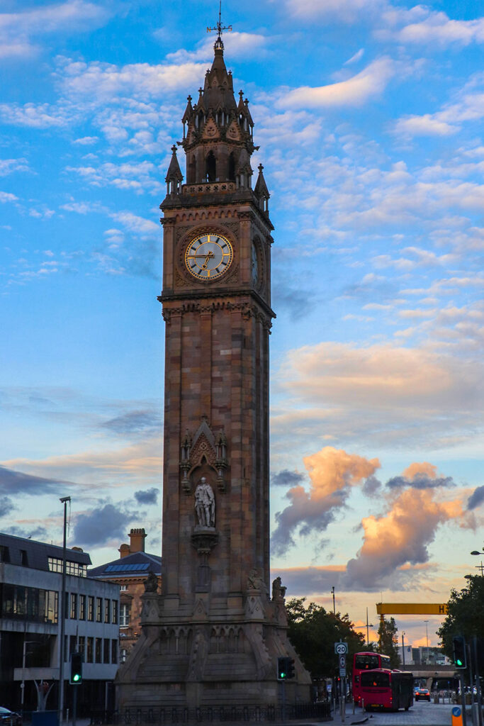 Albert Memorial Clock, nordirland