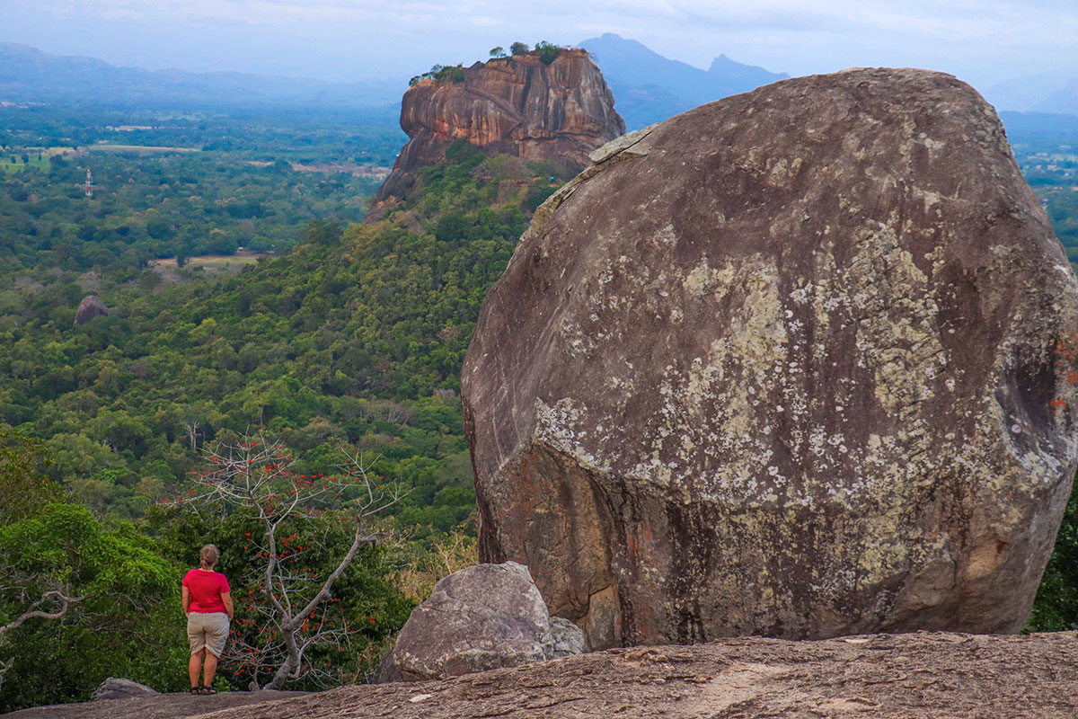sigiriya fra pidurangala rock