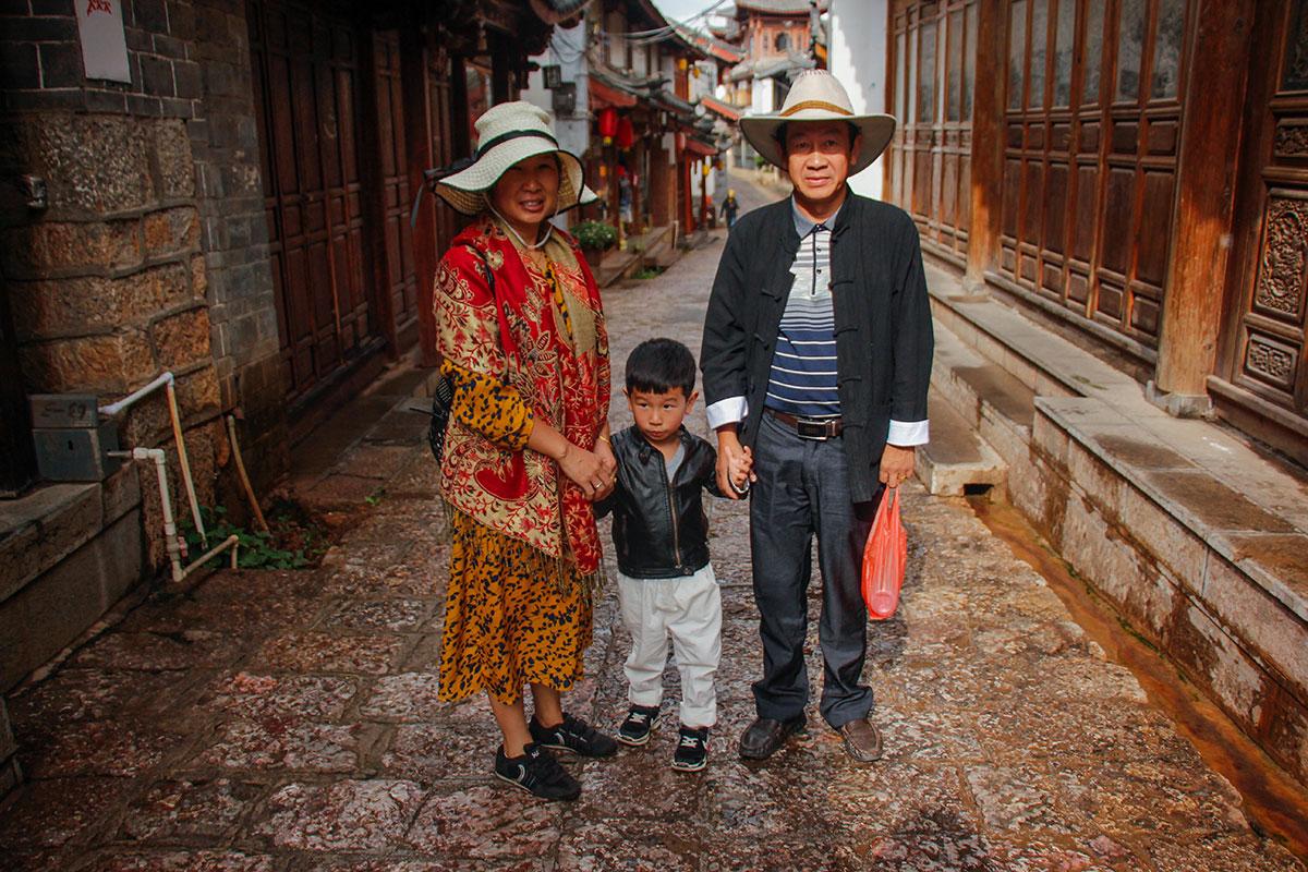 kinesere i lijiang