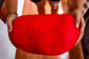 sovepose til backpackerrejsen
