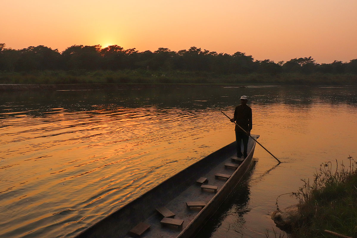 kano i chitwan national park