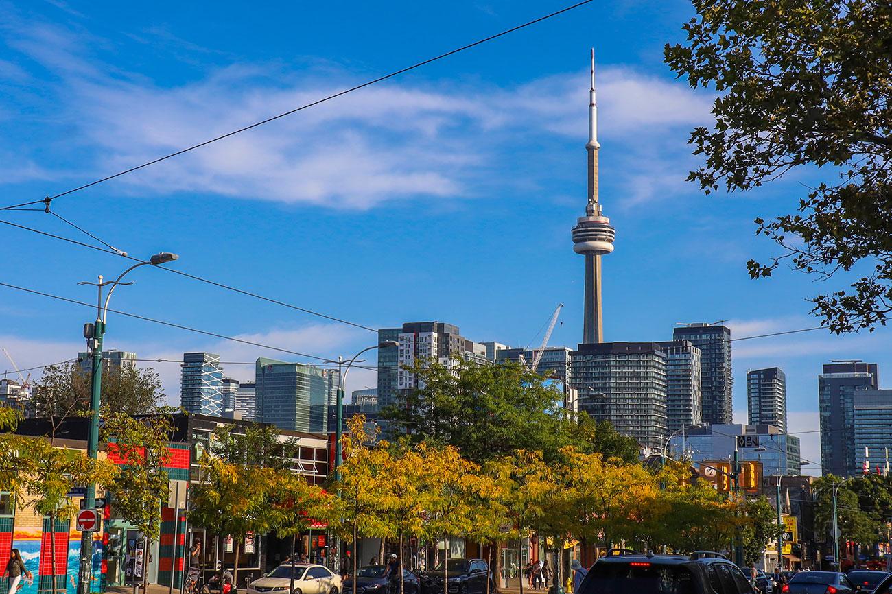 Efterår i Toronto