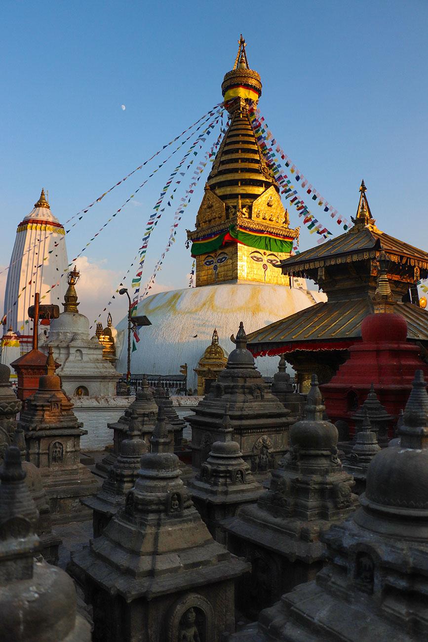 Swayambhunath Stupa, Kathmandu, Nepal