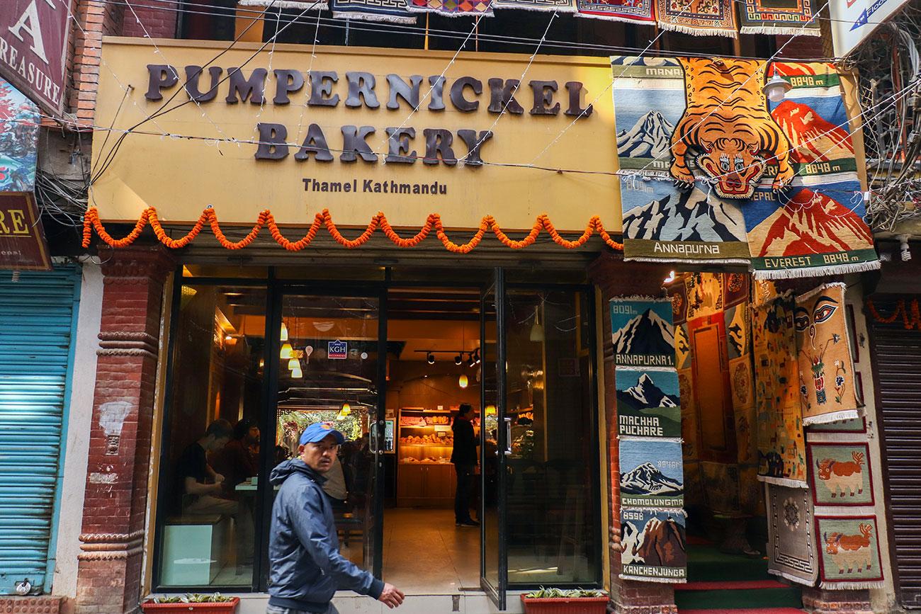 bedste bageri i Kathmandu