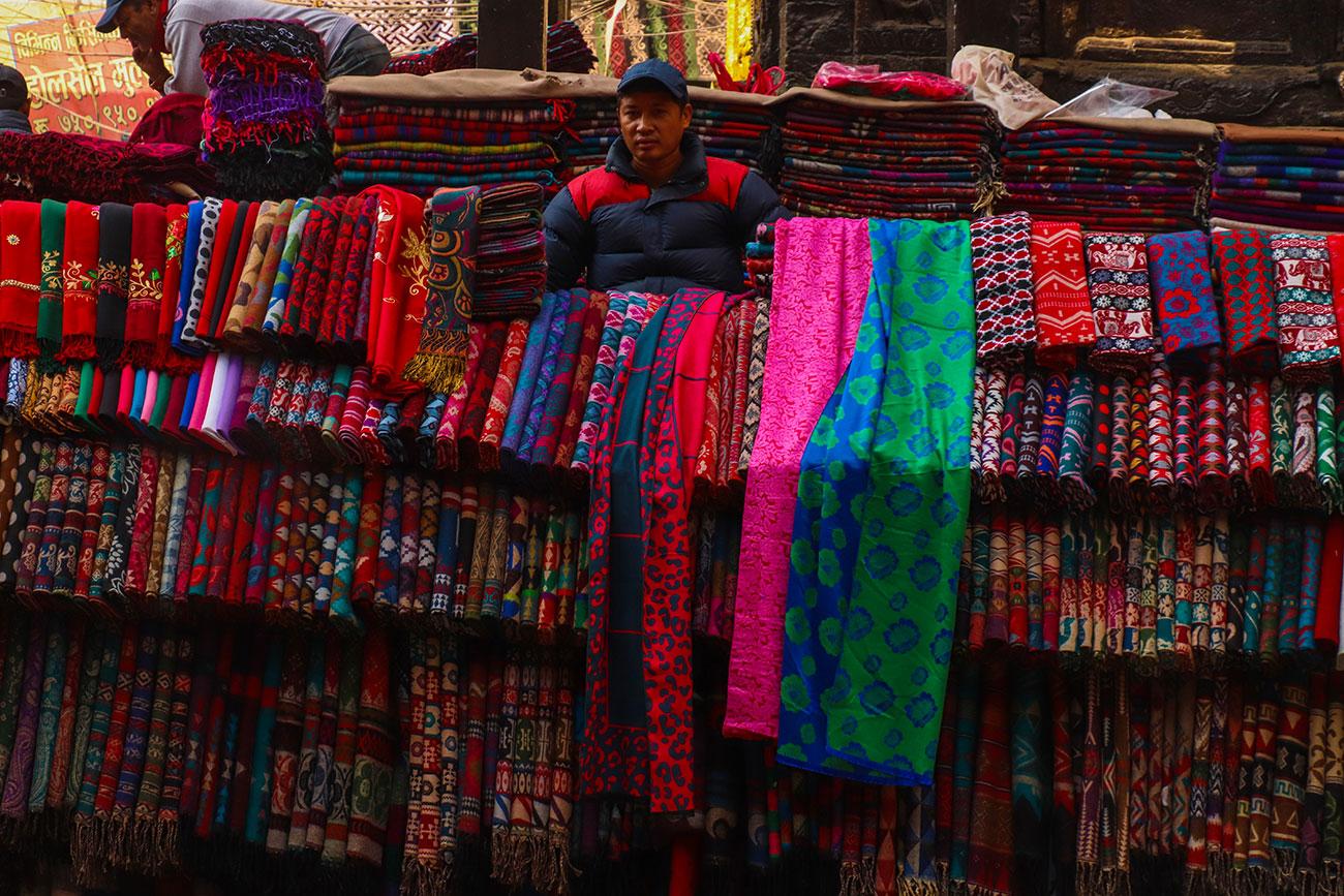 marked i Kathmandu