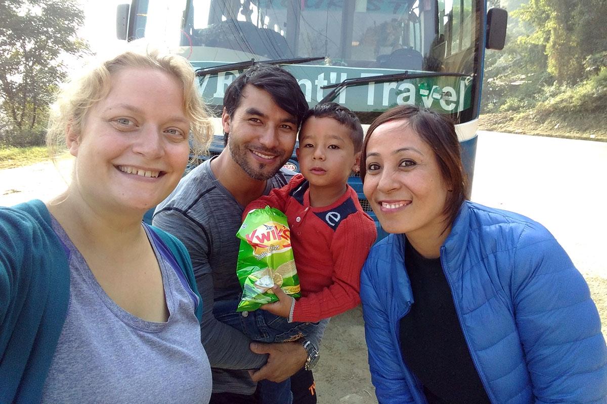 nepalesisk familie