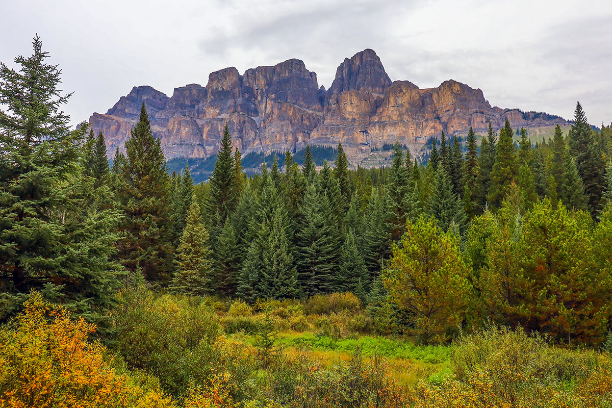 Castle Mountain, Bow Valley Parkway