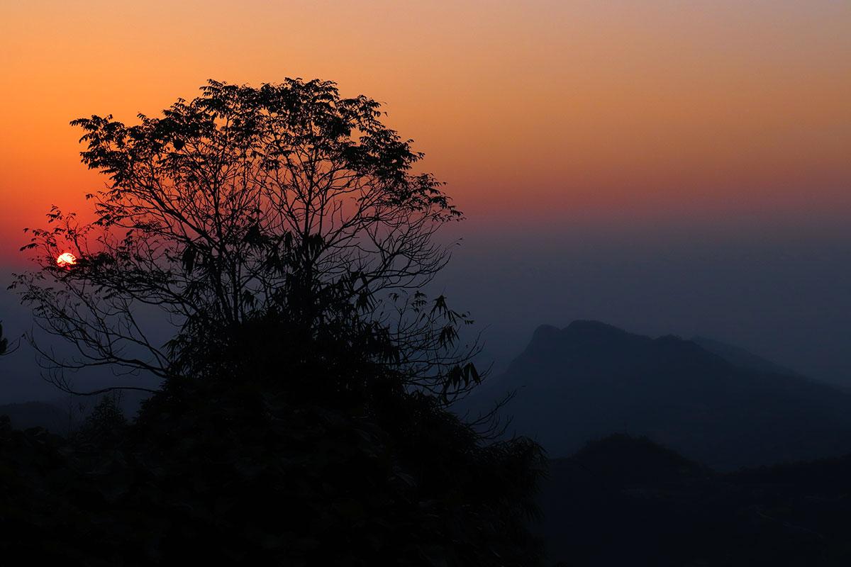 solopgang i nepal