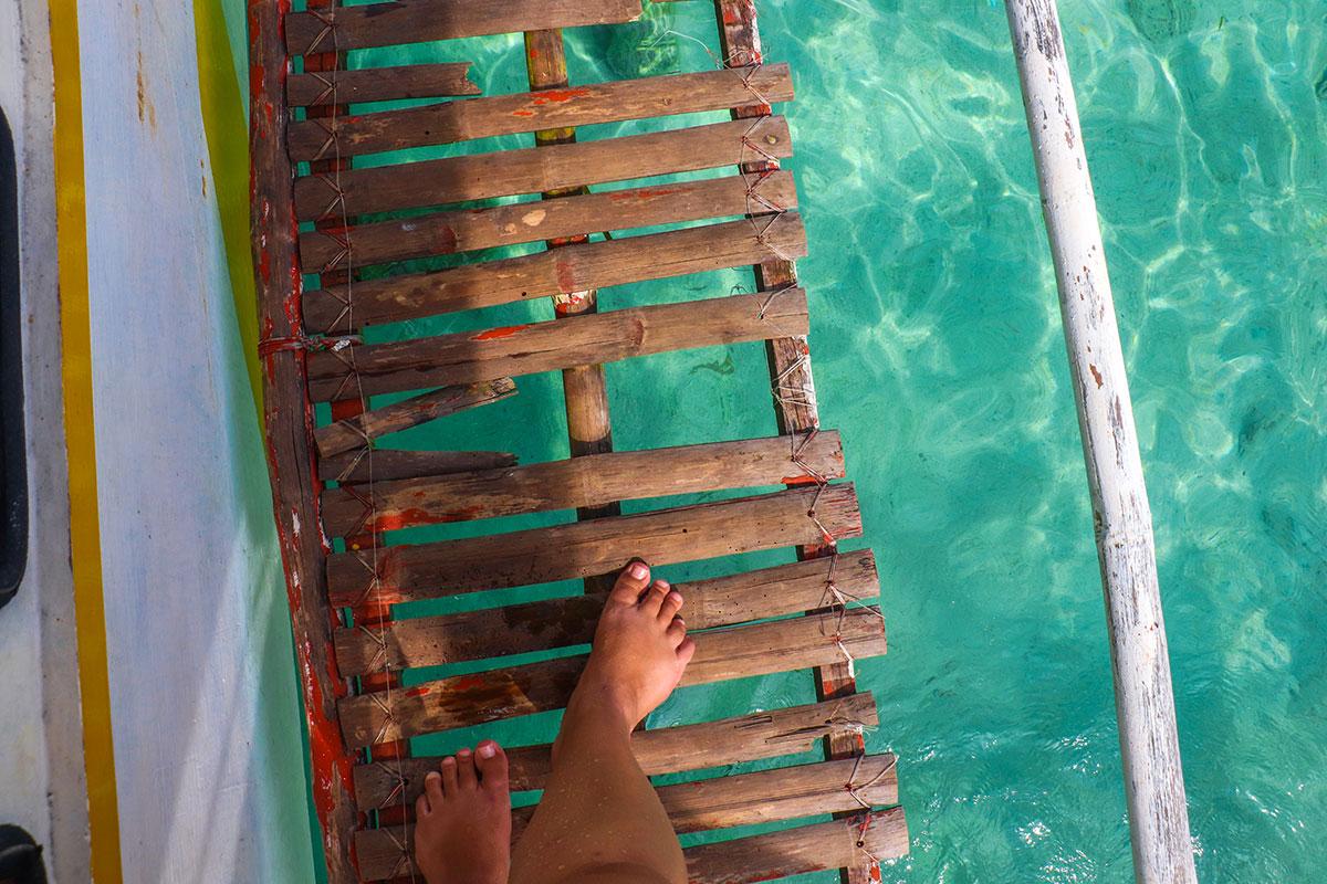 vandet ved Coron, Filippinerne