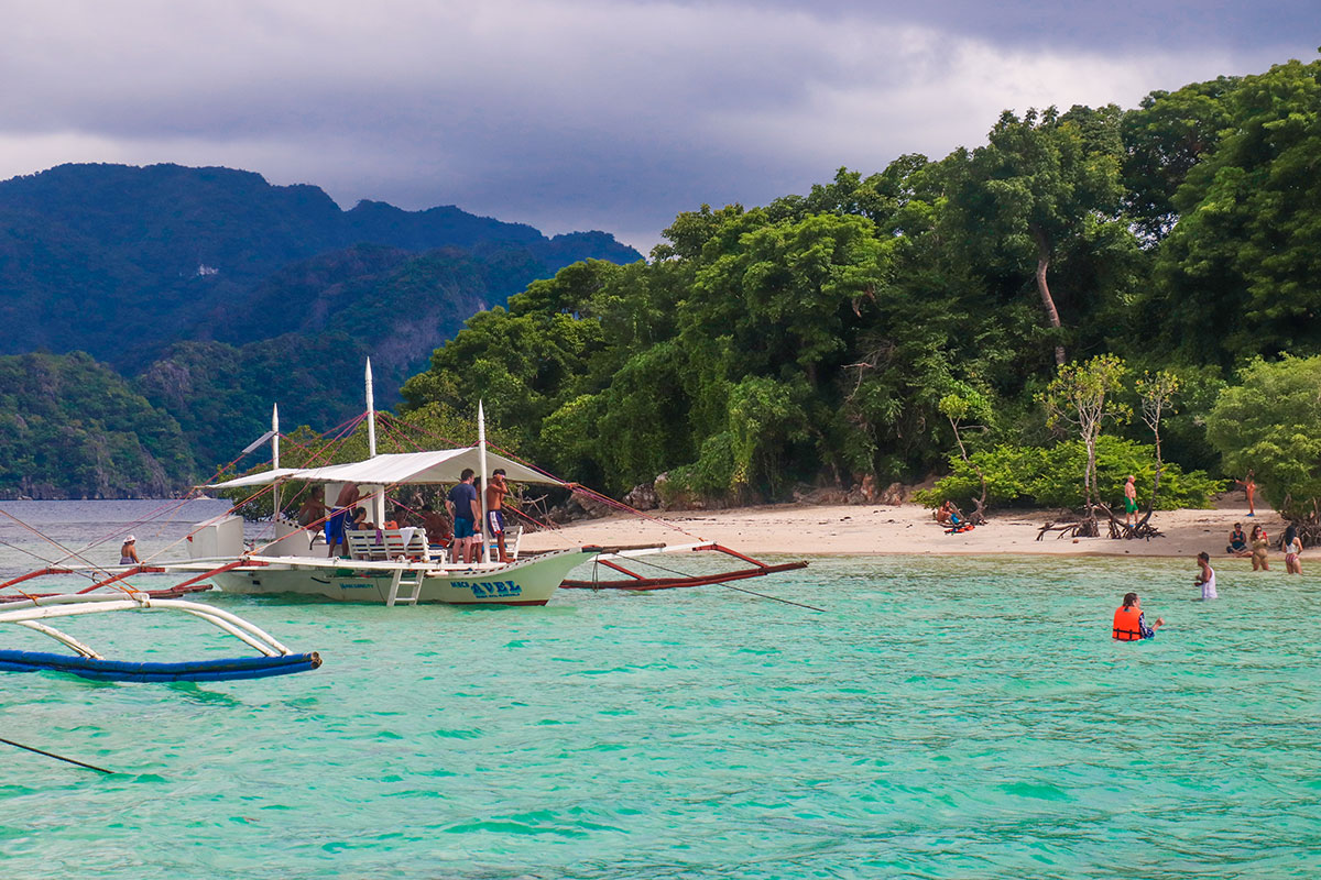 Coron Youth Club Beach, CYC Beach, Coron, Filippinerne