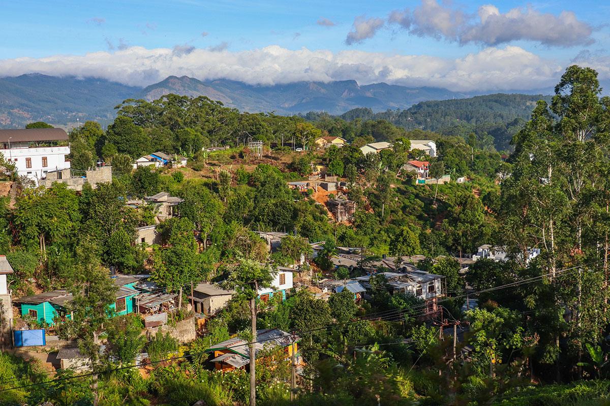 små landsbyer i sri lanka