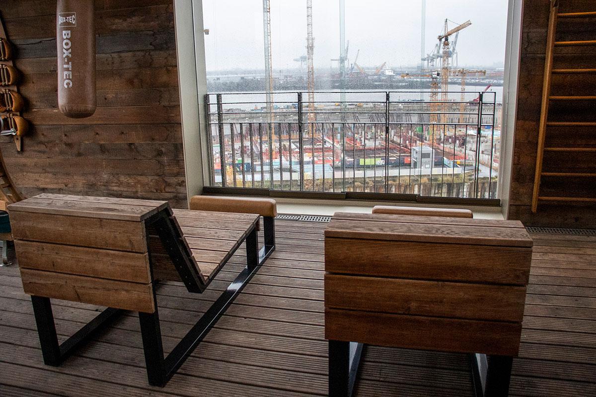 sauna på vores hotel i hamborg