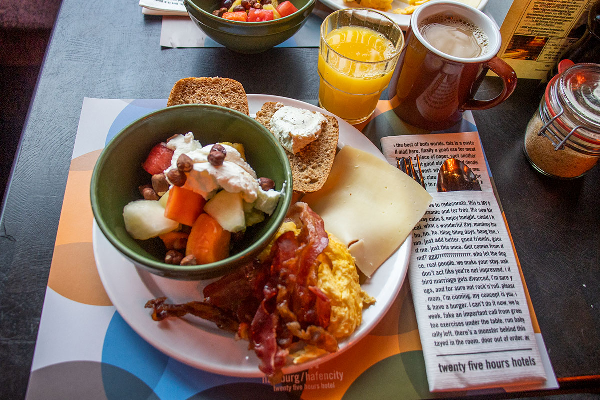 morgenmad i hamborg