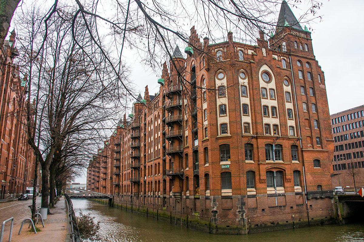 Speicherstadt i hamborg - hvor skal man bo i hamborg?