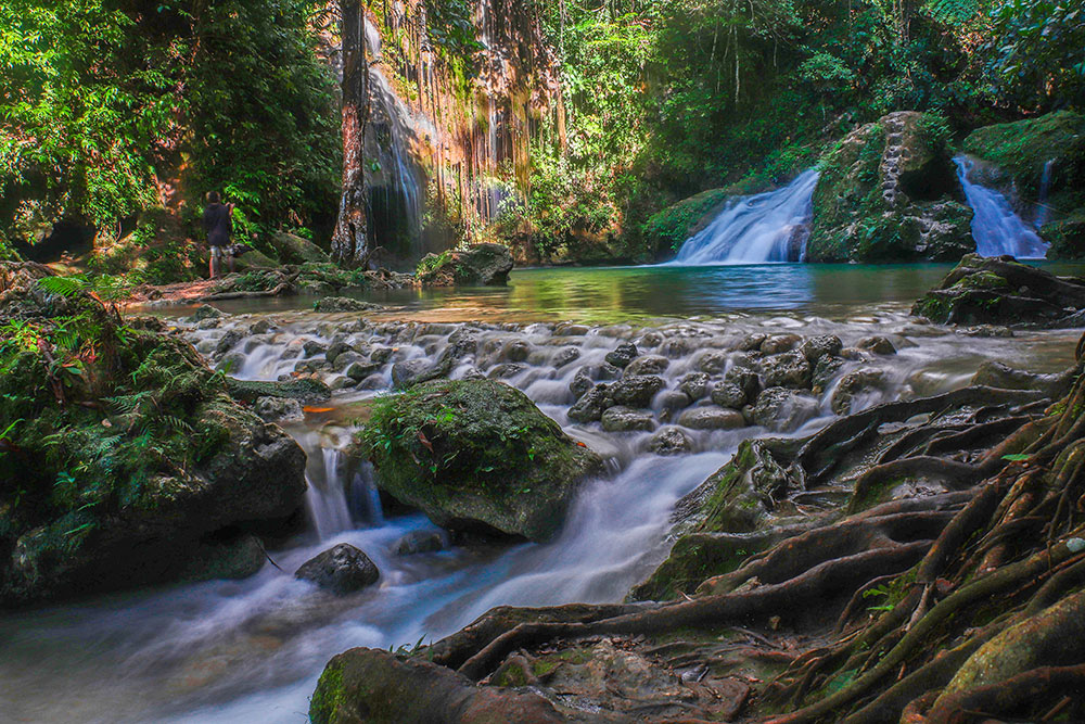 vandfald, cebu island