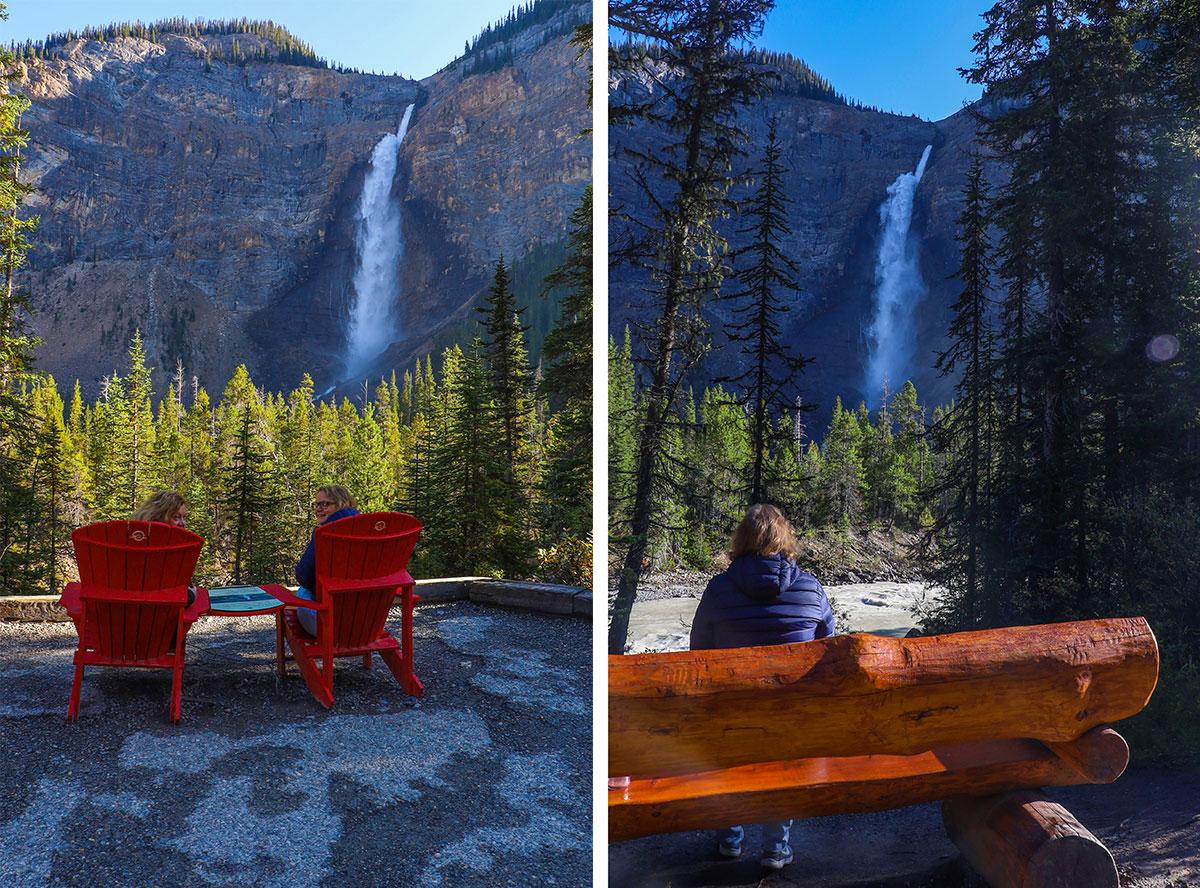 takkakaw falls, yoho national park, canada