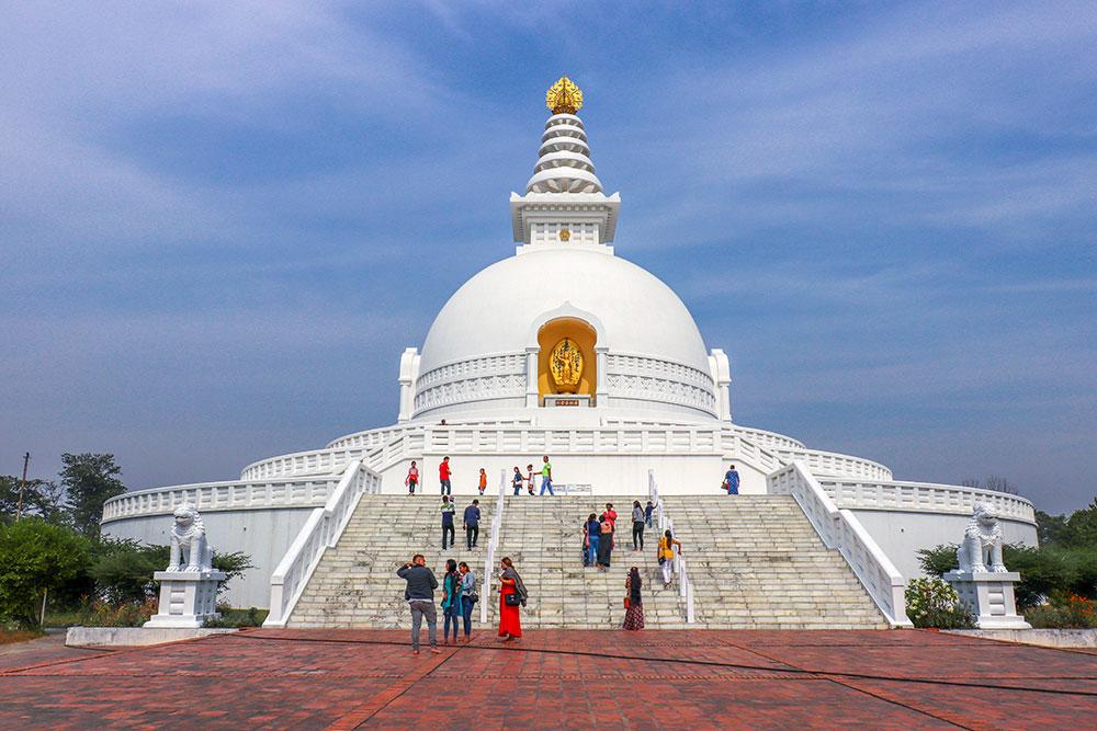 peace pagoda, Lumbini