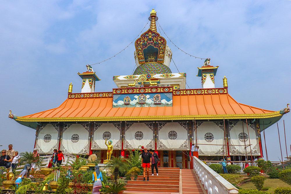 Great Drigung Kagyud Lotus Stupa, lumbini