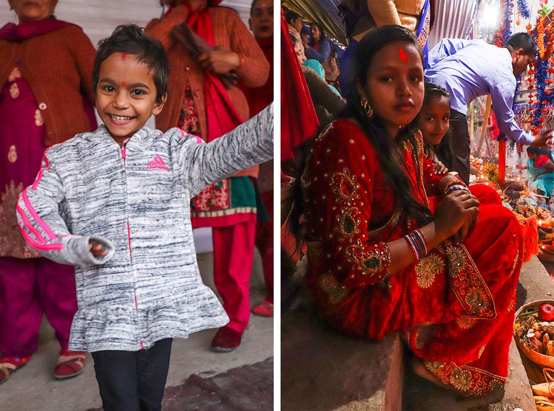 nepalesiske børn