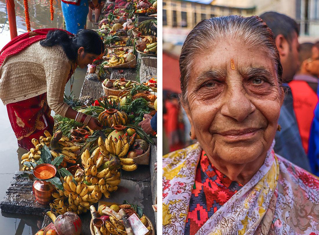 ofringer i kathmandnu, Nepal