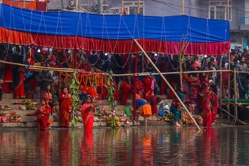 bagmati floden, Nepal