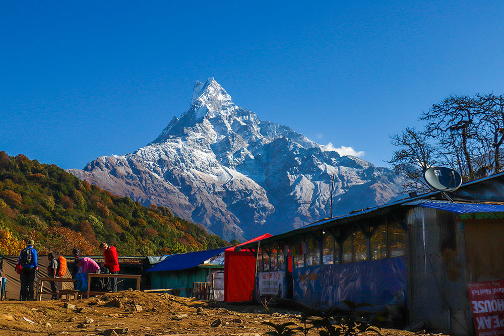 Low Camp, Mardi Himal, Nepal