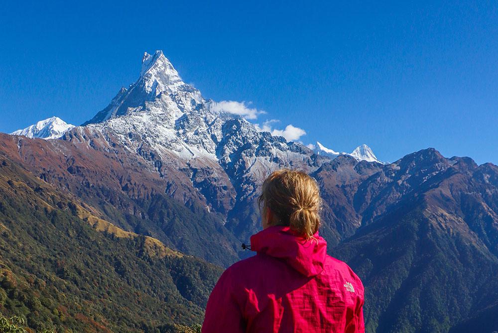 middle camp, mardi himal, annapurna, nepal