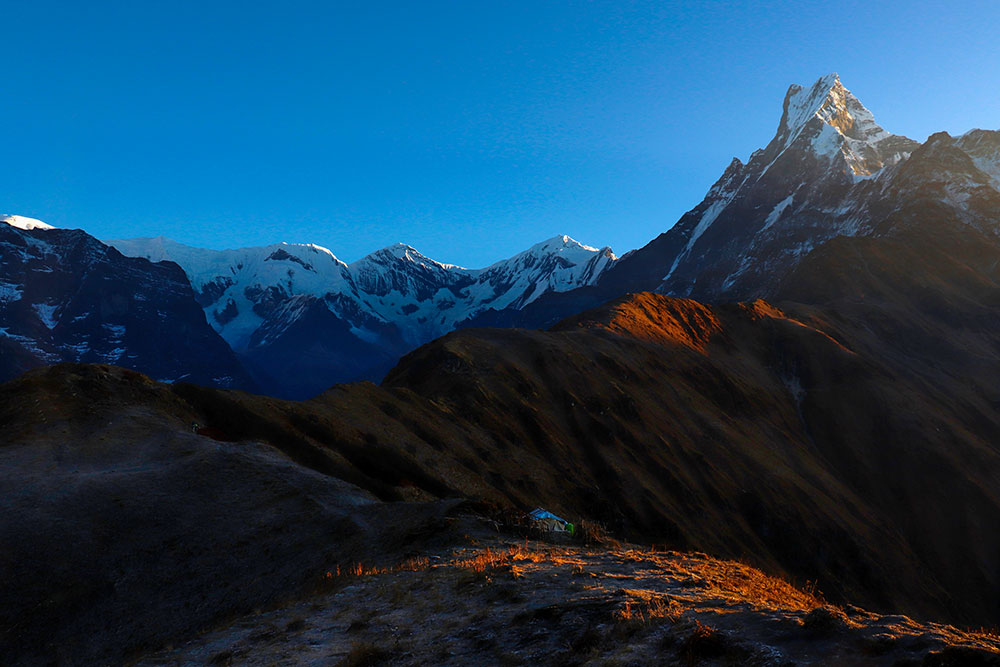 mardi himal upper viewpoint, nepal