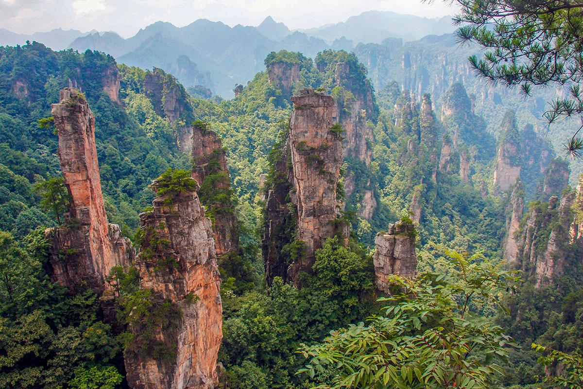 Zhangjiajie National Forest Park – Et af verdens vildeste landskaber