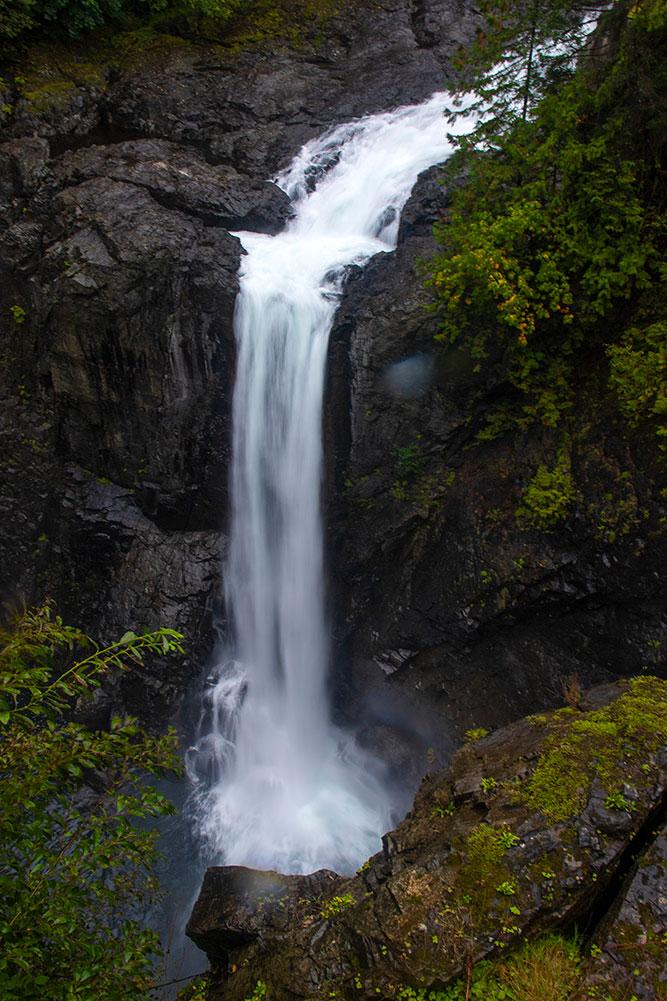 elk falls provincial park, Vancouver Island
