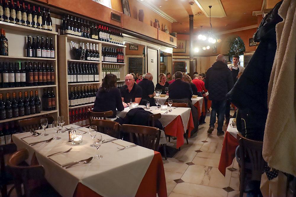 italiensk restaurant i hamborg