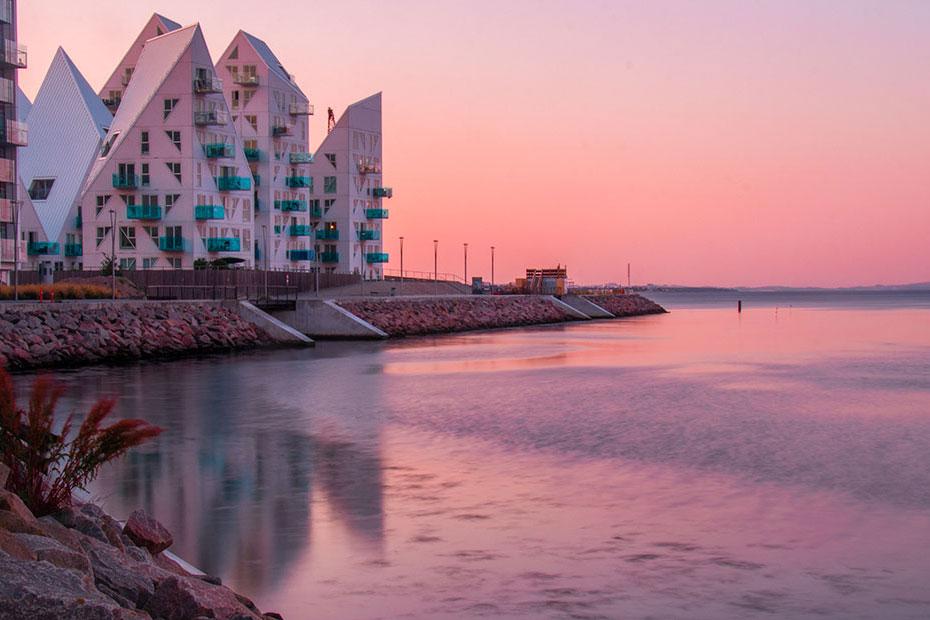 isbjerget, aarhus Ø
