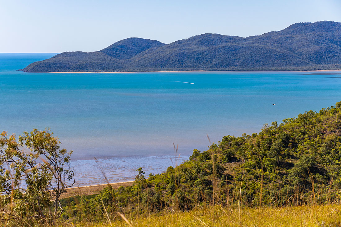 cleveland bay, townsville, australien